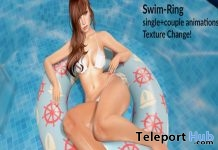 Swim Ring With Single & Couple Animations Group Gift by WetCat - Teleport Hub - teleporthub.com