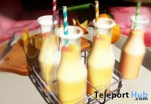 Orange Juice Basket & Giver July 2017 Group Gift by PLAAKA - Teleport Hub - teleporthub.com