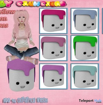 Marshmellow Cushion Pastel Pink Gift by Candy Crunchers - Teleport Hub - teleporthub.com