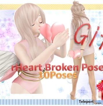 Heart Broken Poses Gift by A&R Haven - Teleport Hub - teleporthub.com