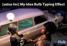 My Idea Bulb Typing Effect Teleport Hub Group Gift by [satus Inc] - Teleport Hub - teleporthub.com