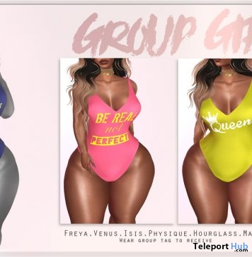 Swimsuits 3 Designs August 2017 Gift by QUEENZ - Teleport Hub - teleporthub.com