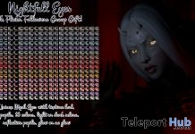 Nightfall Eyes Group Gift by Aii The Ugly & Beautiful - Teleport Hub - teleporthub.com