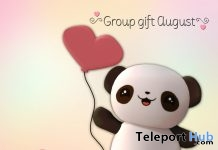 Little Panda August 2017 Group Gift by Your Dreams - Teleport Hub - teleporthub.com