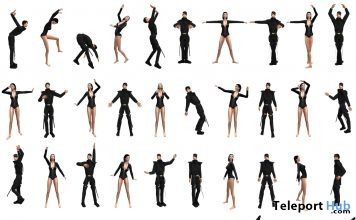 45 Poses For Men and Women Anniversary Group Gift by HelaMiyo - Teleport Hub - teleporthub.com