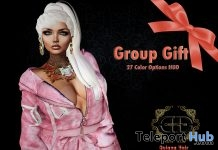 Quiana Ponytail Hair Fatpack August 2017 Group Gift by Desmonia - Teleport Hub - teleporthub.com