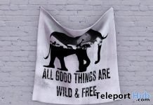 Hanging Cloth World Elephant Day Gift by LOVE - Teleport Hub - teleporthub.com