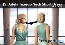 New Release: [S] Adela Tuxedo Neck Short Dress by [satus Inc] - Teleport Hub - teleporthub.com
