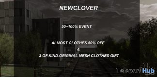 50% Assorted Items Sale Promotion by NEW CLOVER - Teleport Hub - teleporthub.com