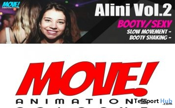 New Release: Alini Vol 2 Dance Pack by MOVE! Animations Cologne - Teleport Hub - teleporthub.com