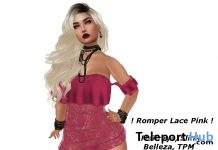 Romper Lace Pink Gift by MR.MIX - Teleport Hub - teleporthub.com