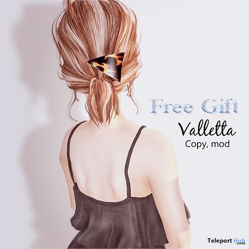 Valletta Hair Piece Gift by ASO! & Soothe. - Teleport Hub - teleporthub.com