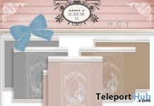 Vintage Accent Wallpapers Group Gift by irrie's Dollhouse - Teleport Hub - teleporthub.com