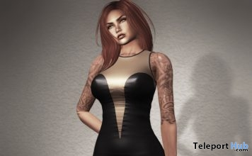 Multi-faces Tintable Fine Mini Dress 99L Promo by HEC - Teleport Hub - teleporthub.com