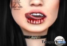 Blood Mouth For Catwa Head1L Promo Gift by Dark Sterec - Teleport Hub - teleporthub.com