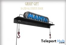 Manta Hook Group Gift by D-LAB - Teleport Hub - teleporthub.com