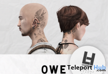 Owe Head Tattoo L'HOMME Magazine Anniversary Group Gift by Bolson - Teleport Hub - teleporthub.com