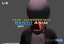 Bento Animation For Undropper Head Gift by KLMC - Teleport Hub - teleporthub.com