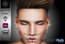 Diamond Lip Tattoo For Mesh Head August 2017 L'Elite Event Gift by [AbsoluT] - Teleport Hub - teleporthub.com
