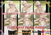 Left Hand Poses Add-on Gift by A&R Haven - Teleport Hub - teleporthub.com