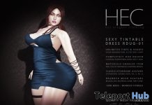 Sexy Tintable Dress 99L Promo by HEC - Teleport Hub - teleporthub.com