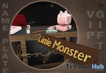 Little Monster Name Tag Group Gift by Boutique #187# - Teleport Hub - teleporthub.com
