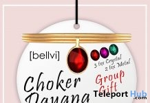 Dayana Choker Group Gift by [bellvi] - Teleport Hub - teleporthub.com