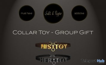 Collar Toy September 2017 Group Gift by Salt & Pepper - Teleport Hub - teleporthub.com