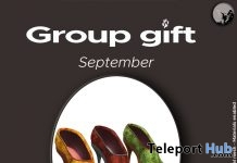 Adrianna Shoes Limited Edition September 2017 Group Gift by Petit Chat - Teleport Hub - teleporthub.com