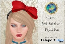 Red Hairband Papillon L'Elite Event September 2017 1L Promo Gift by Viki - Teleport Hub - teleporthub.com