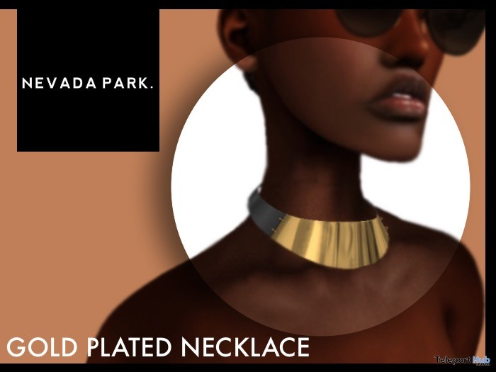 Gold Plated Necklace Group Gift by NEVADA PARK - Teleport Hub - teleporthub.com