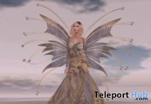 The Violet Fairy Gown Group Gift by Paris METRO Couture - Teleport Hub - teleporthub.com
