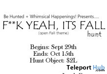 F^ck Yeah, It's Fall Hunt - Teleport Hub - teleporthub.com