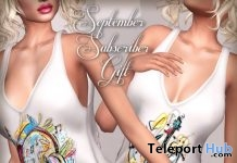 Whimsy Tank Top September 2017 Subscriber Gift by Graffitiwear - Teleport Hub - teleporthub.com