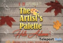 The Artist's Palette Hello Autumn Event - Teleport Hub - teleporthub.com