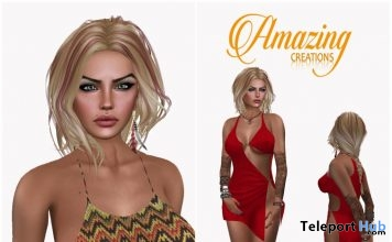 Kami Halter & Red Sexy Dress Group Gift by AmAzIng CrEaTiOnS - Teleport Hub - teleporthub.com