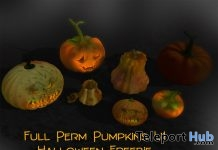 Full Perm Pumpkins Gift by June Trenkins - Teleport Hub - teleporthub.com