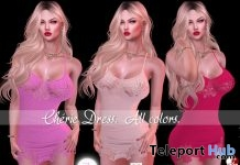 Cherie Dress Fatpack 99L Promo by UNSCRUPULOUS - Teleport Hub - teleporthub.com