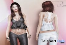 New Release: Gahesh Top & Skirt by E-Clipse Design @ Shiny Shabby September 2017 - Teleport Hub - teleporthub.com