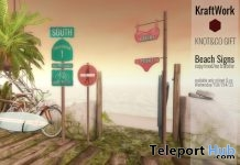 Beach Signs Knot & Co. Summer Project 2017 Group Gift by KraftWork - Teleport Hub - teleporthub.com