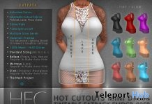 Hot-Cutouts Mini Dress Tintable Fatpack 20% Off Group Discount Promo by HEC - Teleport Hub - teleporthub.com