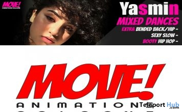 New Release: Yasmin Mixed Dance Pack by MOVE! Animations Cologne - Teleport Hub - teleporthub.com