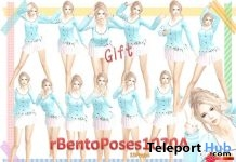 rBentoPose1020A Pack of 15 Assorted Bento Poses by A&R Haven - Teleport Hub - teleporthub.com