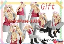 rBentoPose1028A Pack of 7 Bento Poses Gift by A&R Haven - Teleport Hub - teleporthub.com