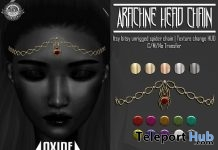 Arachne Headchain October 2017 Group Gift by OXIDE - Teleport Hub - teleporthub.com