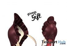 Bardot Shoes Tawny Port October 2017 Group Gift by Gos Boutique - Teleport Hub - teleporthub.com