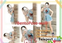 rBentoPose1026 Pack of 7 Bento Poses & Wall Prop Gift by A&R Haven - Teleport Hub - teleporthub.com