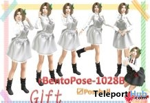 rBentoPose1028B Pack of 6 Bento Poses Gift by A&R Haven - Teleport Hub - teleporthub.com