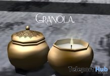 Capped Candle October 2017 Group Gift by Granola - Teleport Hub - teleporthub.com