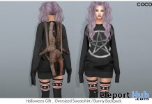 Oversized Sweatshirt & Bunny Backpack Group Gift by COCO Designs - Teleport Hub - teleporthub.com